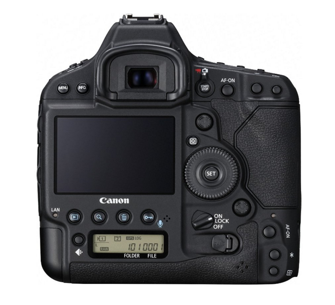 Canon EOS-1D X Mark II -3-Rear View-Hardware-Pro