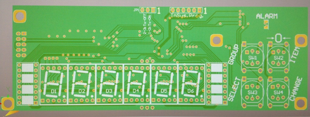 Display,LED,6-Digit, 7-Seg, Mini - 4Btn-Front-Hardware-Pro