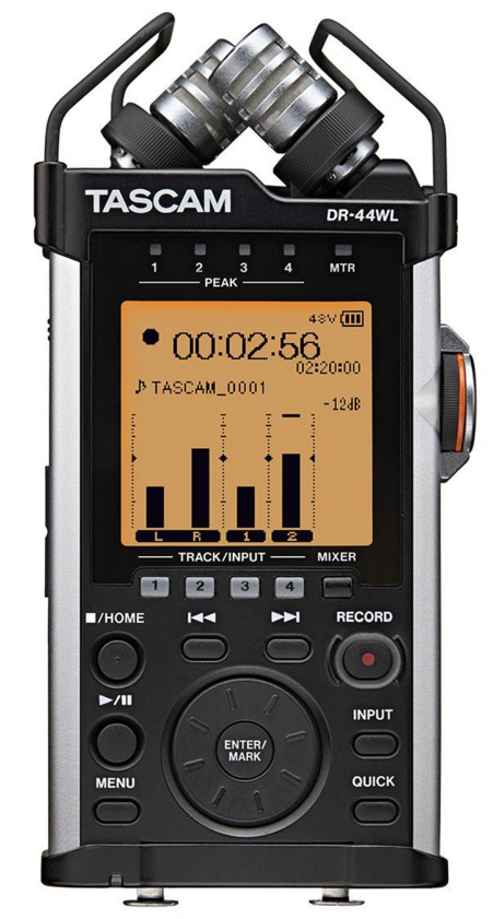 4-Channel-Audio-Recorder - DR-44WL-1-Hardware-Pro