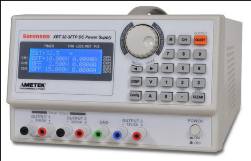 Sorensen-XBT 32-3FTP DC PS-3-Hardware-Pro