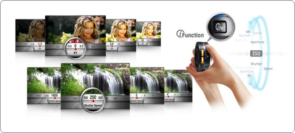 Samsung NX500-18-Wide Lens-i Function-Hardware-Pro