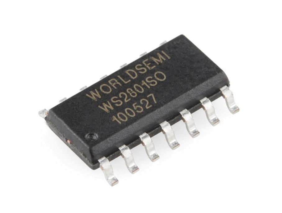 RGB PIXEL-WS2801-CHIP-7-Hardware-Pro