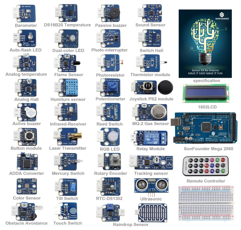 37-in-1-Sensors for arduino-1-Hardware-pro