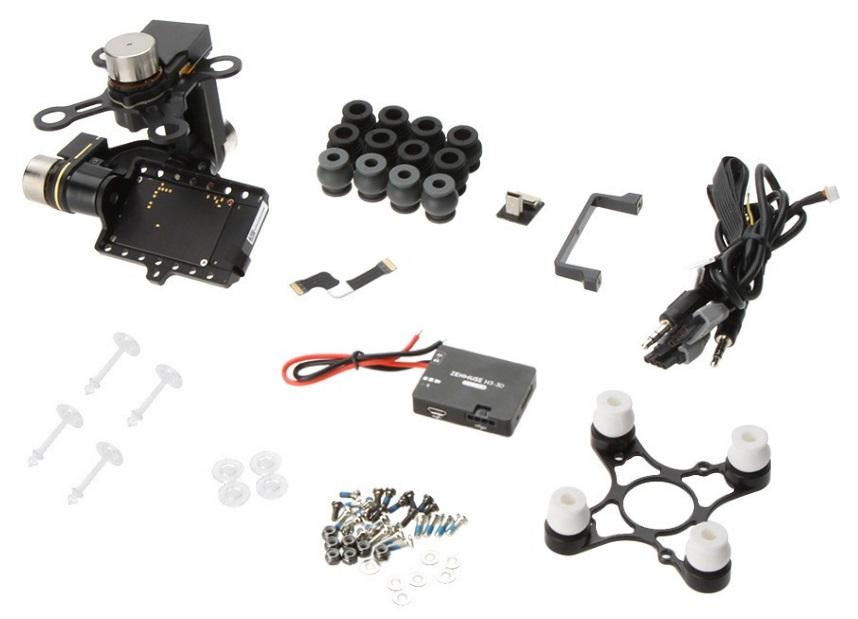 DJI ZENMUSE H3-3D-7-Hardware-Pro