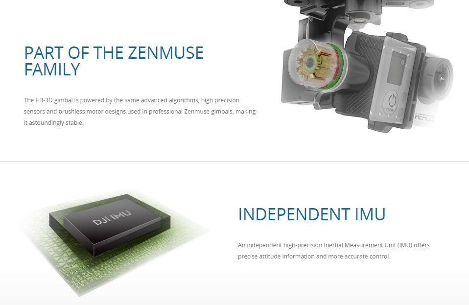 DJI ZENMUSE H3-3D-8-Hardware-Pro