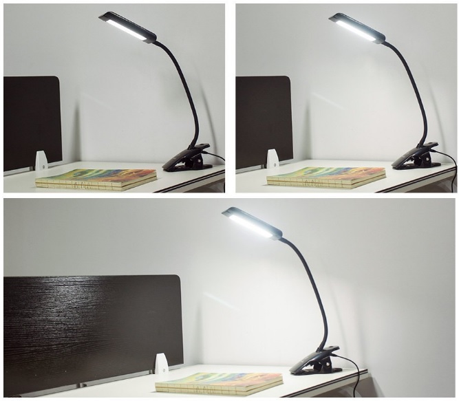 LAMP with 3- Brightness-Levels-7W-Hardware-Pro