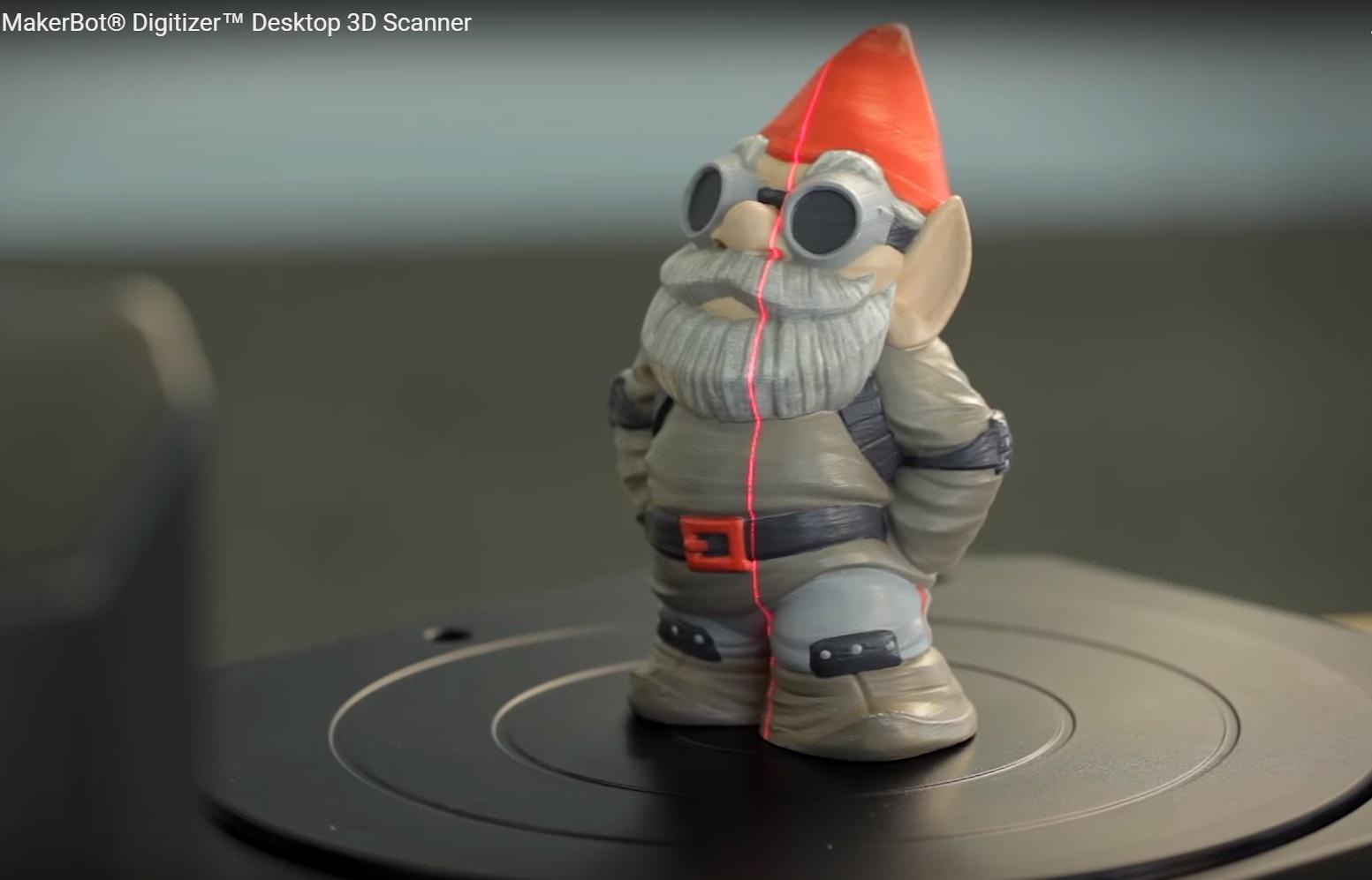 MakerBot Digitizer-scan in action-Hardware-Pro