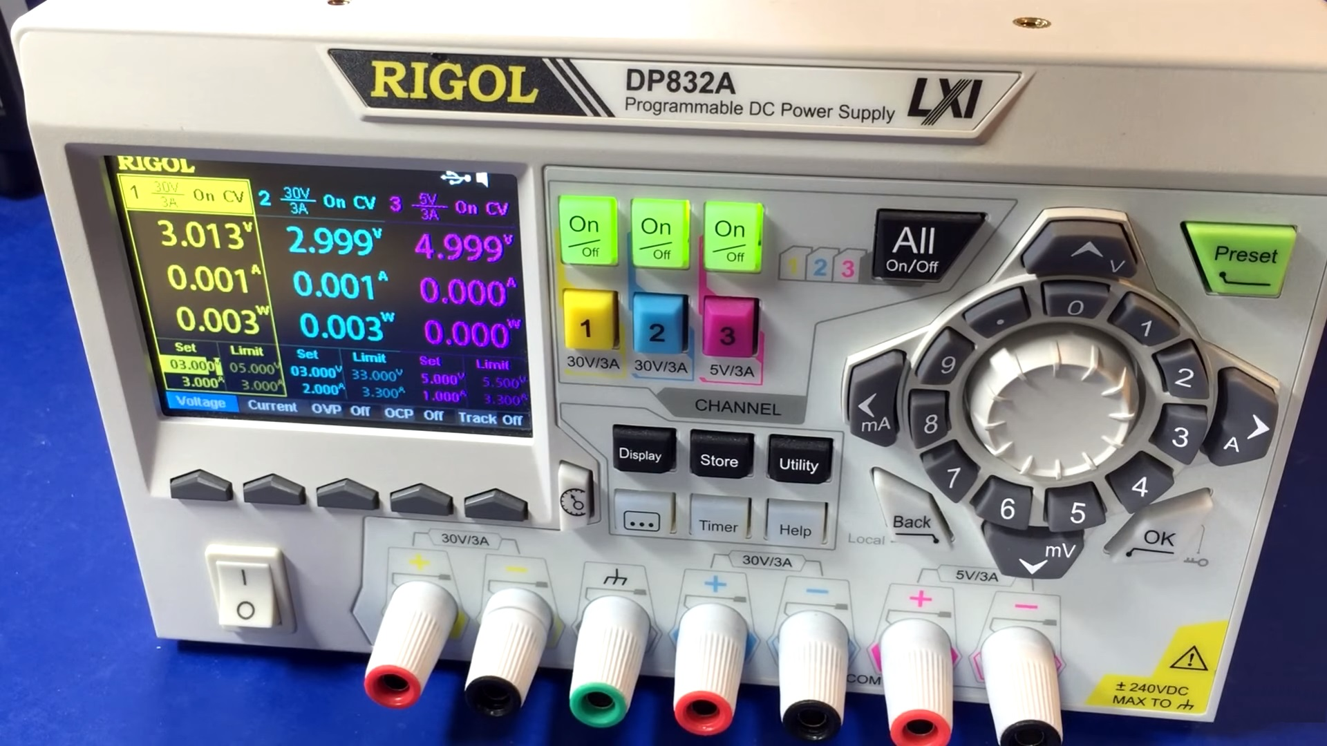Rigol DP832A-1a-Hardware-Pro