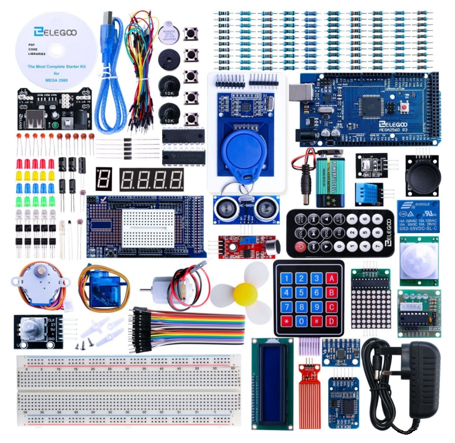 Mega 2560 & Raspberry Pi 3 DIY Learning KITs | Hardware Pro
