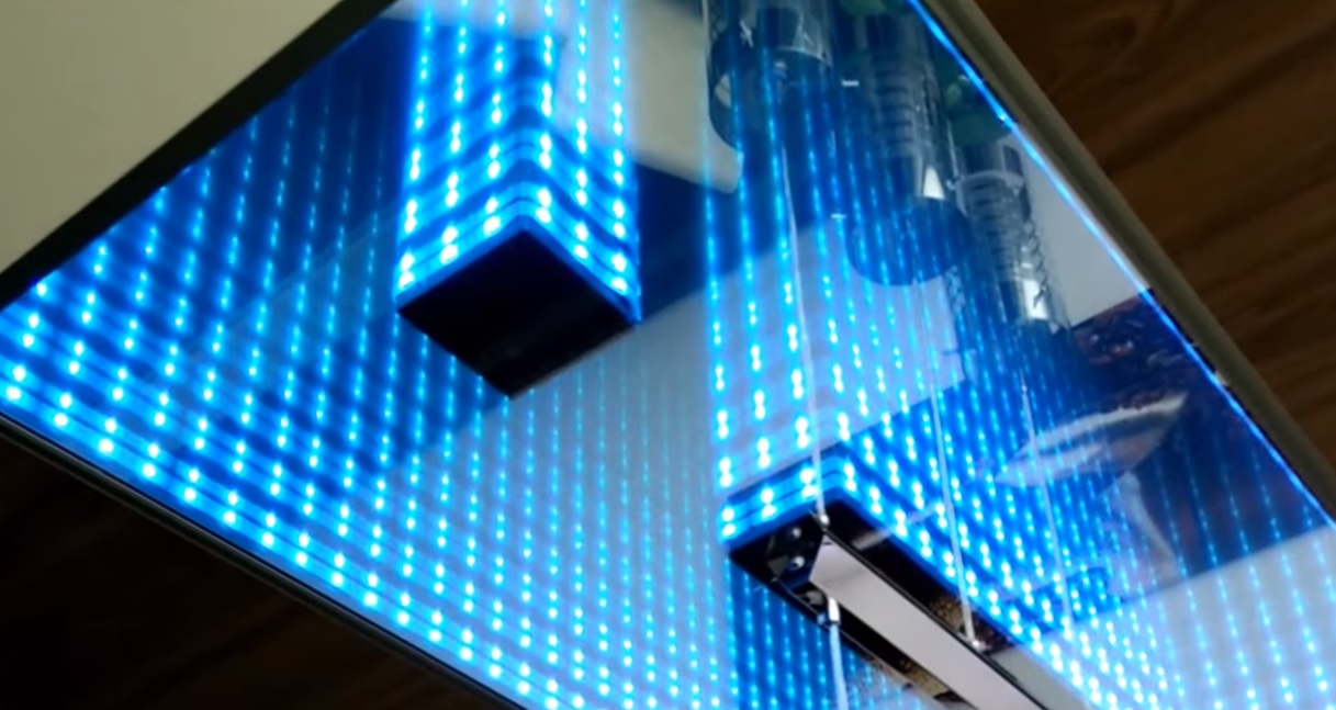 Led Infinity Mirror Ceiling Project